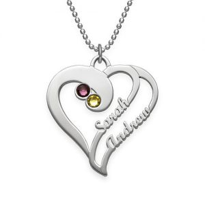 Two Hearts Forever One Necklace
